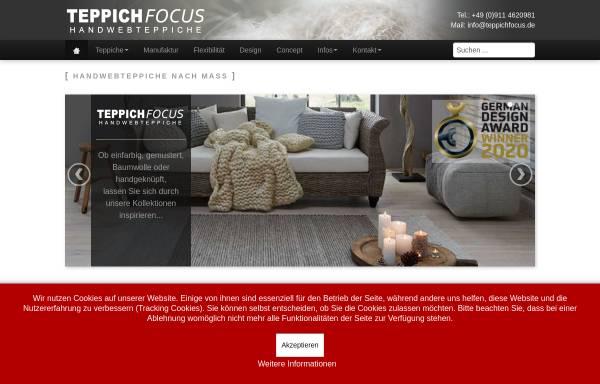 Vorschau von www.teppichfocus.de, Teppichfocus, Oliver Schnick