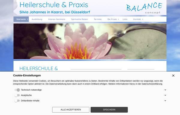 Vorschau von www.balance-concept.com, Heilerschule Balance concept