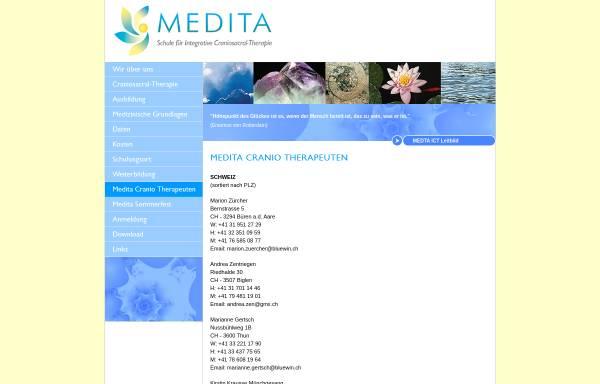 Vorschau von www.medita-schule.ch, MEDITA Schule