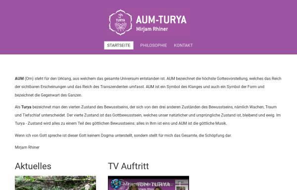 Vorschau von aum-turya.ch, Mirjam Brack