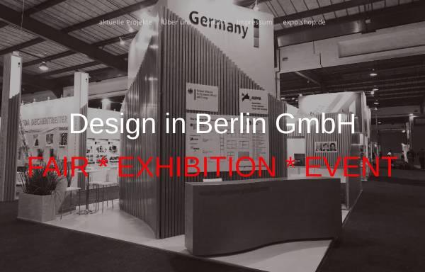 Vorschau von www.designberlin.de, Design in Berlin GmbH