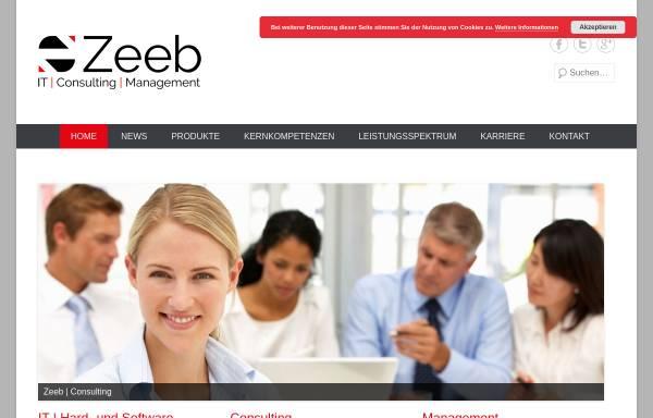 Vorschau von www.zeeb-network.com, Zeeb-Network