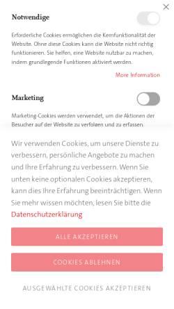 Vorschau der mobilen Webseite www.carl-auer.de, Carl-Auer Verlag, Verlag für Systemisches