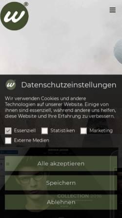 Vorschau der mobilen Webseite webdesignagentur-webagentur.com, Mika Gustavson