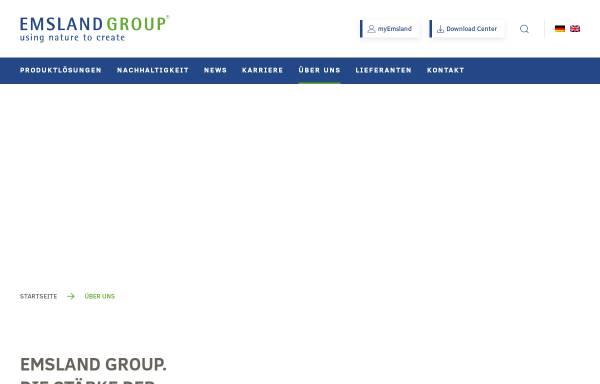 Vorschau von www.emsland-group.de, Mecklenburger Kartoffelveredlung GmbH