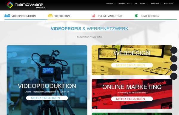 Vorschau von www.nanoware-media.eu, Nanoware media GmbH