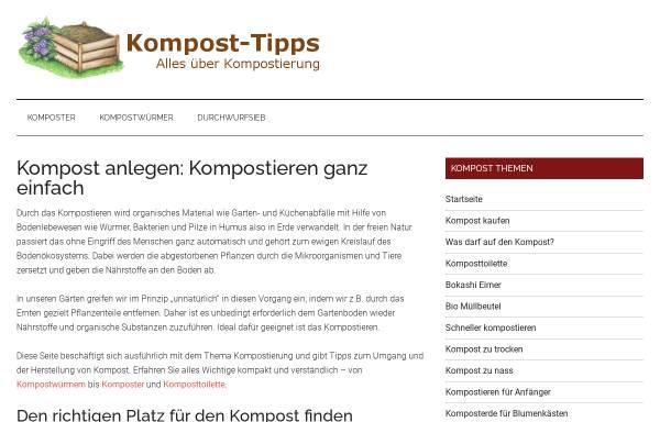 Vorschau von www.kompost-tipps.de, Kompost-Tipps