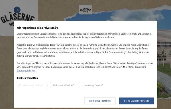 Vorschau von www.glaeserne-molkerei.de, Gläserne Meierei GmbH