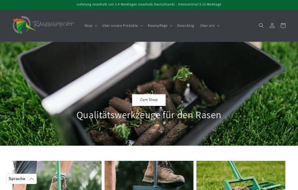 Vorschau von www.rasenspecht.de, WeBu Perfekterrasen GbR