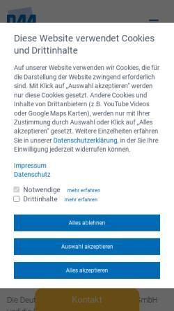 Vorschau der mobilen Webseite www.bnvhs.de, BNVHS - Bildungswerk Niedersächsischer Volkshochschulen GmbH