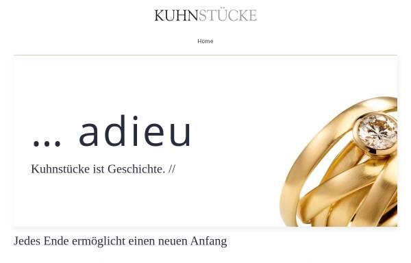 Vorschau von www.kuhnstuecke.de, Kuhnstücke - der Goldschmied in Esslingen und Stuttgart
