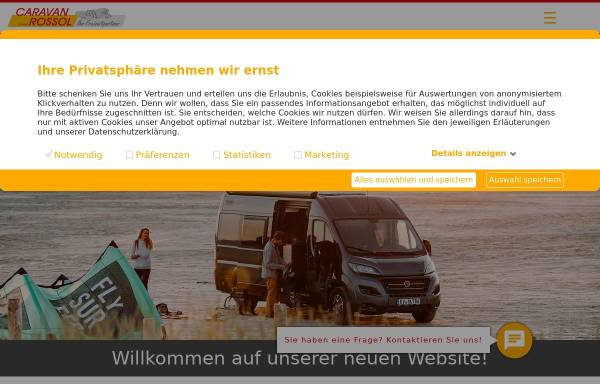 Vorschau von www.caravan-rossol.de, Caravan-Rossol GmbH