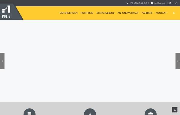 Vorschau von www.polisag.de, Bürohaus Luisenstraße 46