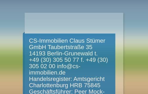 Vorschau von cs-immobilien.de, CS Immobilien
