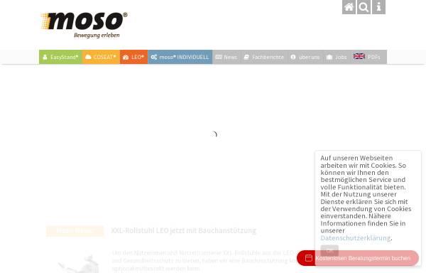 Vorschau von www.moso-gmbh.de, Motion Solutions GmbH / MoSo