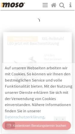 Vorschau der mobilen Webseite www.moso-gmbh.de, Motion Solutions GmbH / MoSo