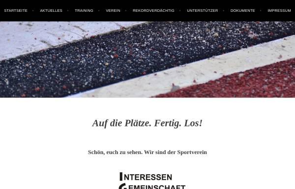 Vorschau von www.igl-schoeneiche.de, SV Interessen Gemeinschaft Leichtathletik Schöneiche e.V.