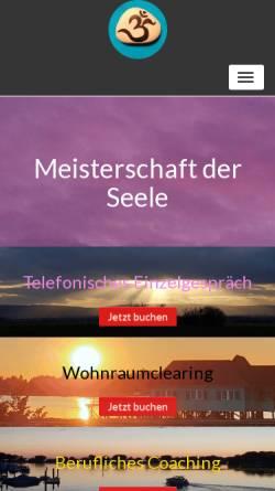 Vorschau der mobilen Webseite www.c-d-e.de, Cornelia Stürmer