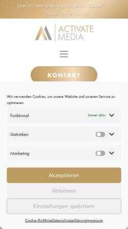 Vorschau der mobilen Webseite www.schell-concepts.de, Schell Concepts, Alexander Schell