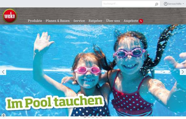 Vorschau von www.weka-holzbau.com, WEKA Holzbau GmbH