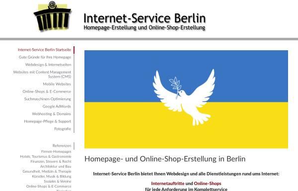 Vorschau von www.internet-service-berlin.de, Internet-Service Berlin, Jochen Skibbe