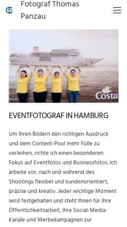 Vorschau der mobilen Webseite www.fotografieren.net, Fotograf Thomas Panzau