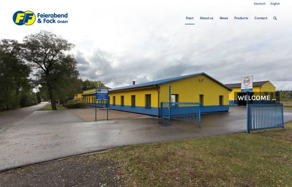 Vorschau von www.feierabend-fock.de, Feierabend & Fock GmbH