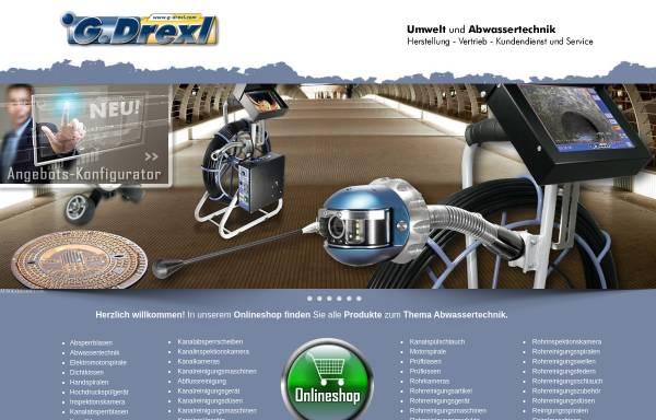 Vorschau von www.gdrexl.de, G. Drexl GmbH & Co. KG Umwelt- und Abwassertechnik