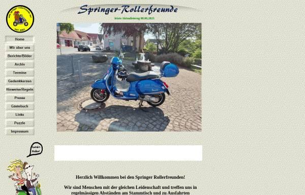 Vorschau von www.springer-rollerfreunde.net, Springer-Rollerfreunde