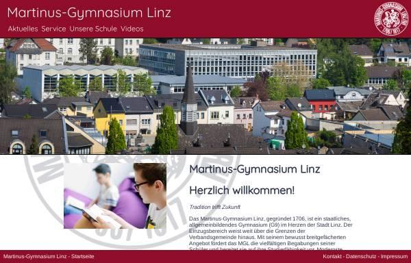 Vorschau von www.martinus-gymnasium.de, Martinus-Gymnasium