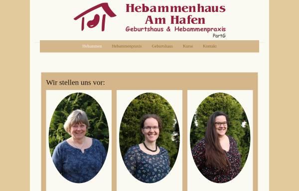 Vorschau von www.hebammenhausamhafen.de, Hebammenhaus am Hafen, Hebamme Anett Thiele & Partnerinnen