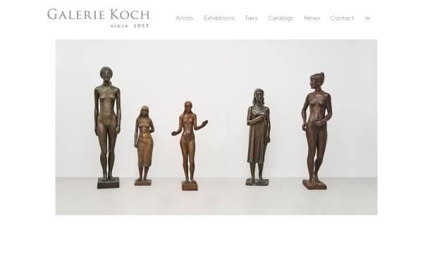 Vorschau von www.galeriekoch.de, Galerie Koch OHG
