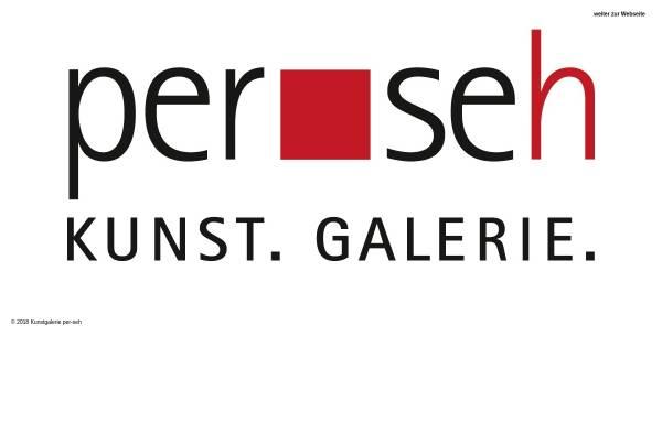 Vorschau von www.per-seh.de, Kunstgalerie per-seh - Frank Buchholz