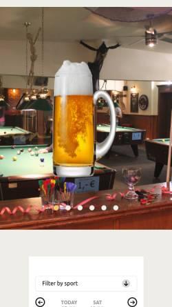 Vorschau der mobilen Webseite www.happyhour-potsdam.de, Happy Hour Potsdam
