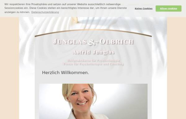 Vorschau von www.astrid-junglas.de, Astrid Junglas