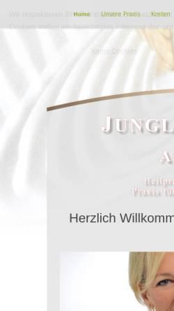 Vorschau der mobilen Webseite www.astrid-junglas.de, Astrid Junglas