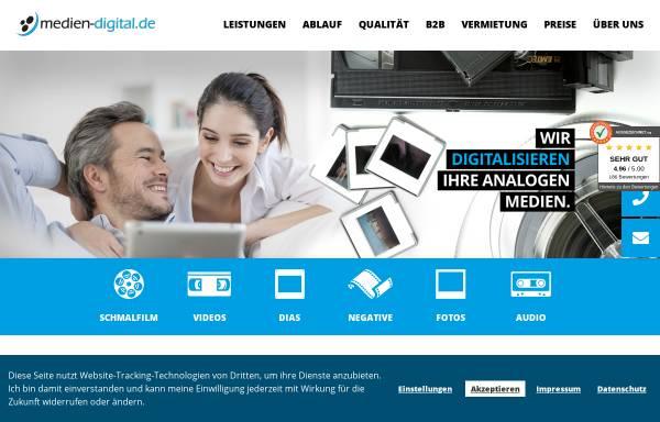 Vorschau von www.medien-digital.de, MedienDigitalisierung Zoller