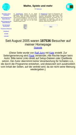 Vorschau der mobilen Webseite mathespiele.ralfj.de, Schiffe versenken