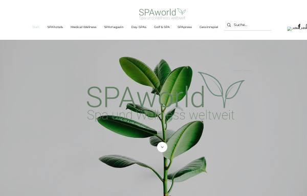 Vorschau von www.spaworld.de, Spaworld.de