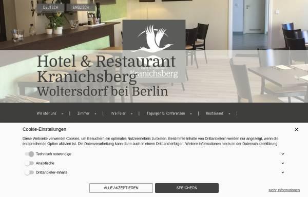 Vorschau von www.kranichsberg-hotel.de, Hotel & Restaurant