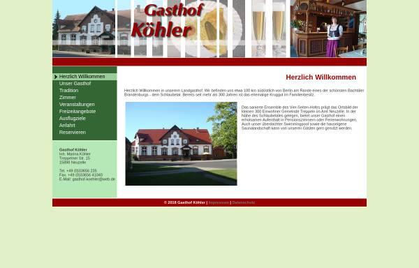 Vorschau von www.gasthof-koehler.de, Gasthof Köhler