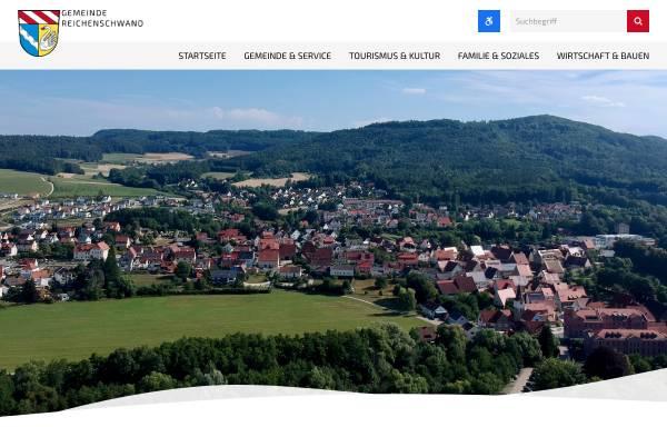 Vorschau von www.reichenschwand.de, Gemeinde Reichenschwand