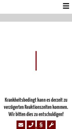 Vorschau der mobilen Webseite www.webman-webdesign.de, WebMan Webdesign