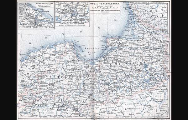 Vorschau von www.wichert.de, West- und Ostpreussen 1896