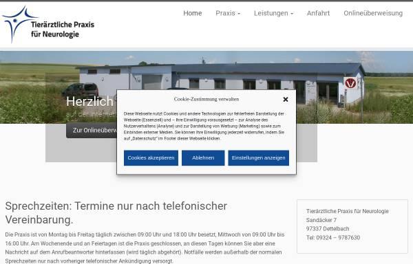 Vorschau von www.tierneurologie.de, Dr. Kai Rentmeister - Tierärztliche Praxis für Neurologie