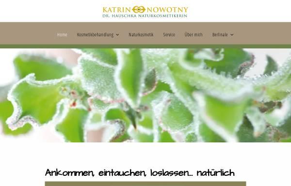 Vorschau von www.natuerlich-in-potsdam.de, Katrin Nowotny - Dr. Hauschka Naturkosmetik