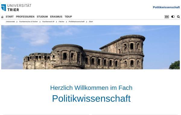 Vorschau von www.politik.uni-trier.de, Universität Trier: Arbeitsgemeinschaft Menschenrechte