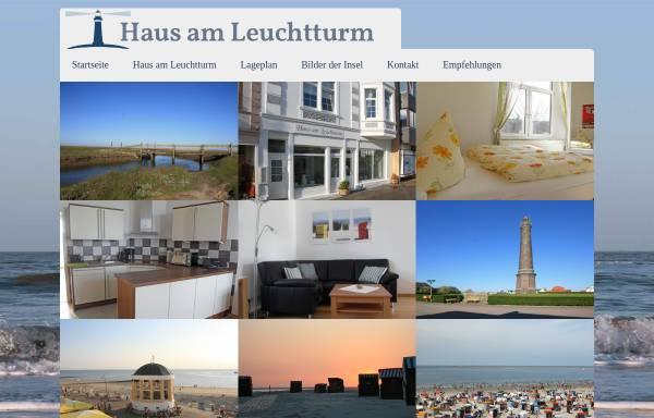 Vorschau von www.hausamleuchtturm-borkum.de, Haus am Leuchtturm