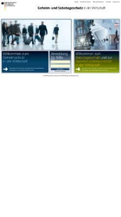 Vorschau der mobilen Webseite bmwi-sicherheitsforum.de, BMWI Sicherheitsforum - Bundesministerium für Wirtschaft und Technologie