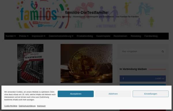 Vorschau von www.dietestfamilie.de, Die Testfamilie